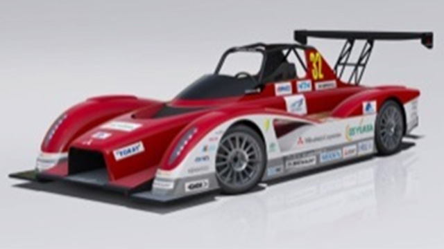 Created CFRP battery box for i-MIEV Pikes Peak vehicles