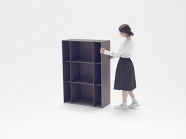Made nendo nest shelf