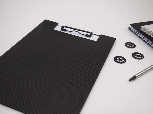 CFRP Clipboards now on sale on Amazon
