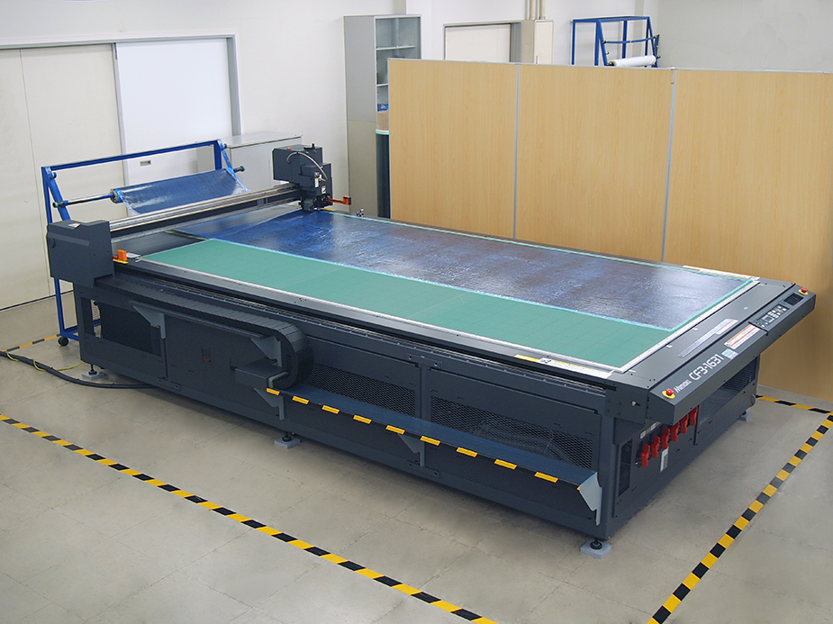 Installation of new cutting plotter equipment
